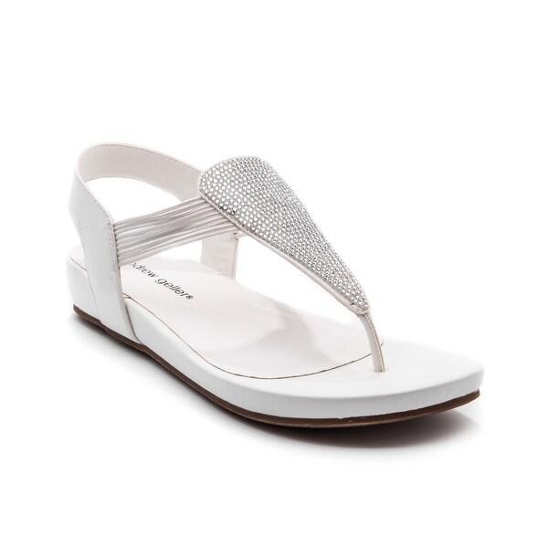 Andrew Geller MALANA Women's Sandals & Flip Flops White