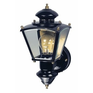 Heath Zenith HZ-4150 Charleston Coach 1 Light 150 Degree Motion Activated Outdoor Wall Sconce (4 options available)