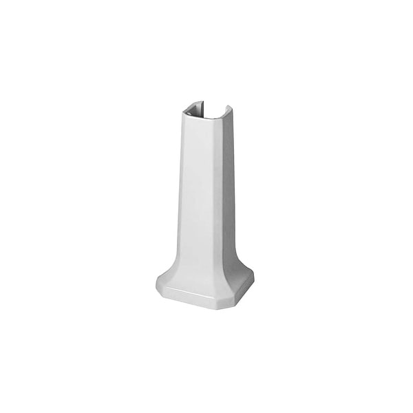 Duravit 0857900000 1930 Ceramic Pedestal Only - White