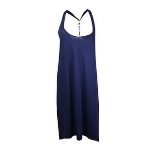 Lucky Brand Women's Sleeveless Asymmetrical Coverup