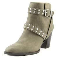 Style & Co Betzie Women Round Toe Synthetic Tan Bootie - 6.5