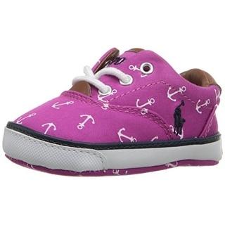 Ralph Lauren Vaughn II Infant Girls Printed Casual Shoes