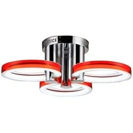 LED Acrylic Flush Mount, 3 Light, Ceiling Light, Fixture Flush Mount