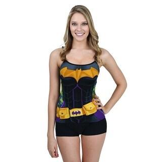 Batman Costume Cami And Short Set