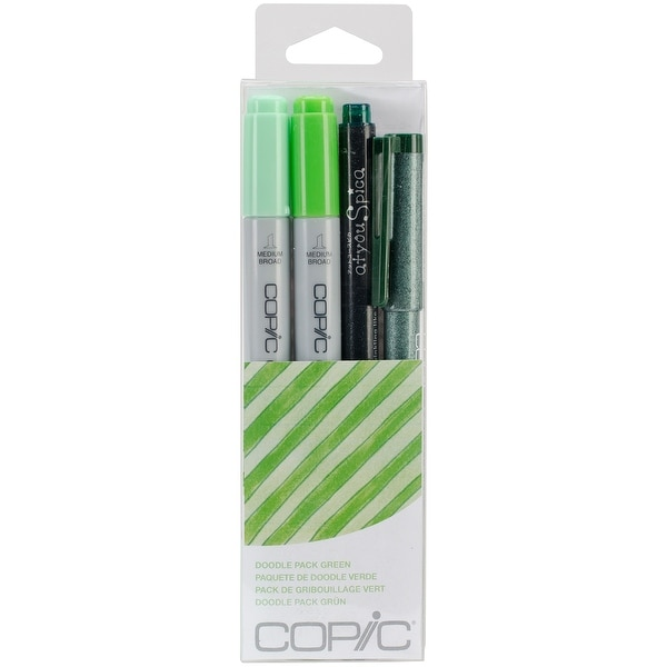 Copic Doodle Pack-Green - Green