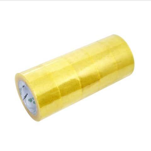 (Material) 50u *53mm*130Y Sealing Tape 100 Rolls / Case Transparent