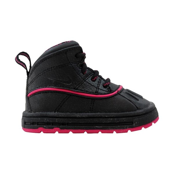 new arrivals 6e1c8 eea06 Nike Woodside 2 High Black Black-Fireberry Toddler 524878-001 Size 4.5  Medium