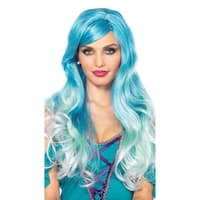 Ombre Mermaid Wig, Curly Mermaid Wig - One Size Fits Most