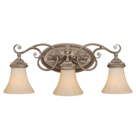 Avenant 3 Light Bronze Bathroom Vanity Fixture - 23-in W x 10.5-in H x 6.5-in D