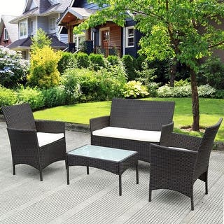 Rattan Patio Furniture - Outdoor Seating & Dining For Less ...