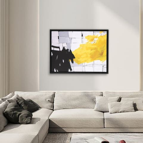 Abstract Wrapped Canvas Print - Canvas Artwork 9/10