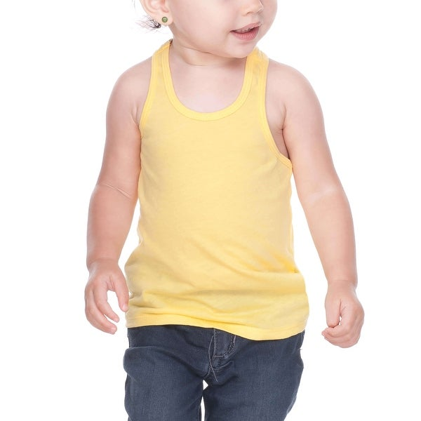 Kavio! Unisex Infants Sheer Jersey Racer Back Tank