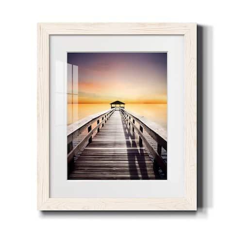 Sunset Pond I-Premium Framed Print - Ready to Hang