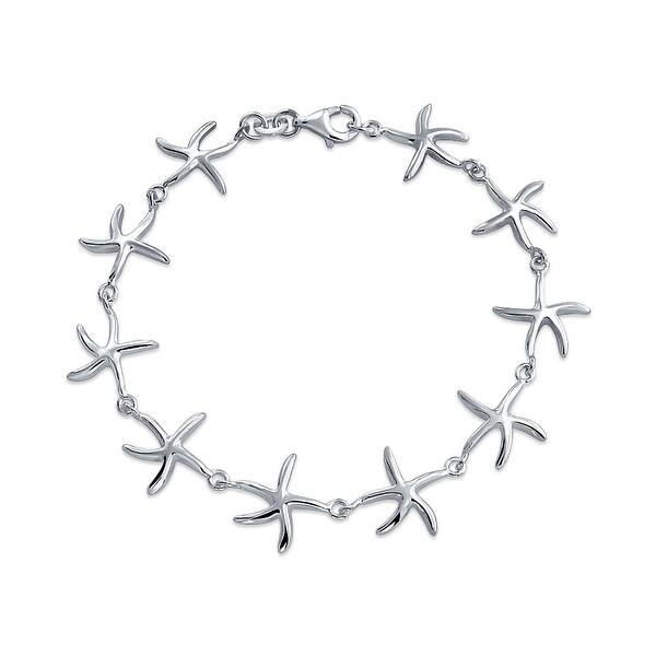 10 Nautical Starfish Bracelet Women