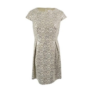 Calvin Klein Women's Bonded Lace Sequined Dress (5 options available)