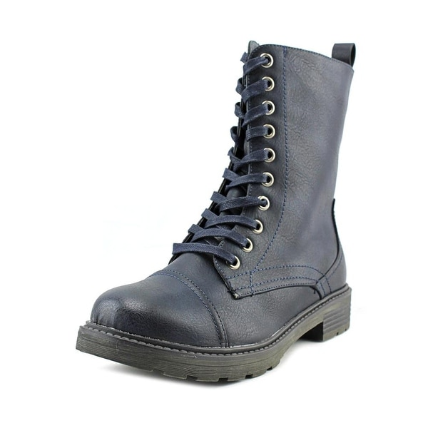 Wanderlust Holly Women Navy/Marine Boots