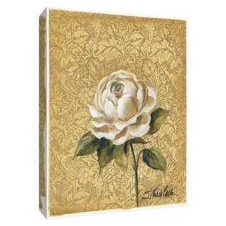 """PTM Images 9-154204  PTM Canvas Collection 10"""" x 8"""" - """"Elegant Rose"""" Giclee Roses Art Print on Canvas"""