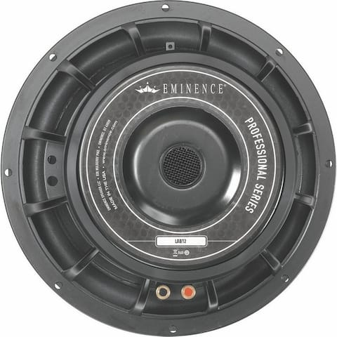 12-In Pro Woofer, 800W Max, 6 Ohms W/Copper Voice Coil & Kevlar-Reinforced Paper Cone