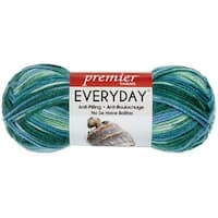 Deborah Norville Collection Everyday Print Yarn-Pond