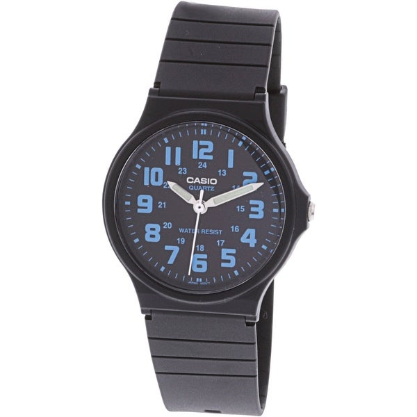 Casio Classic Black Resin Japanese Quartz Fashion Watch
