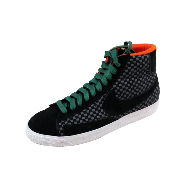reputable site 17bbf 935ea Nike Men  x27 s Blazer Mid Woven Mica Green Black 555093-001