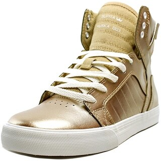 Supra Skytop Boy Champagne-White Athletic Shoes