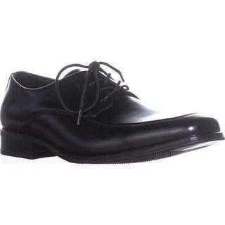 A35 Ralphie Men's Square Toe Oxfords, Black - 9.5 us