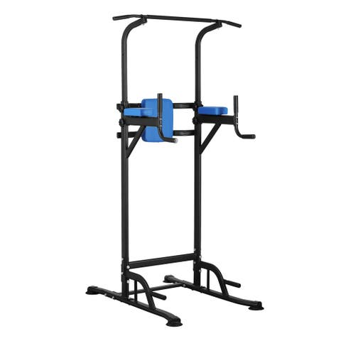 Ainfox Power Tower Exercise Equipment Adjustable Height for Your Home Gym