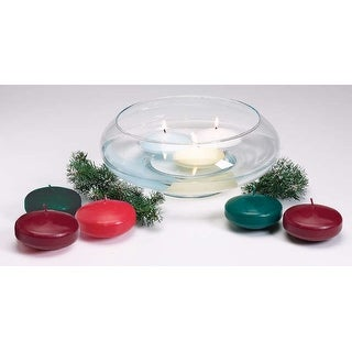 """Unscented Floating Candle Disk 3""""-White - White"""