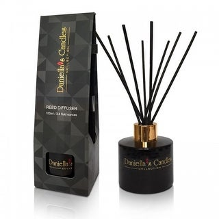 Reed Diffuser 100ML Black by Daniella's Candles