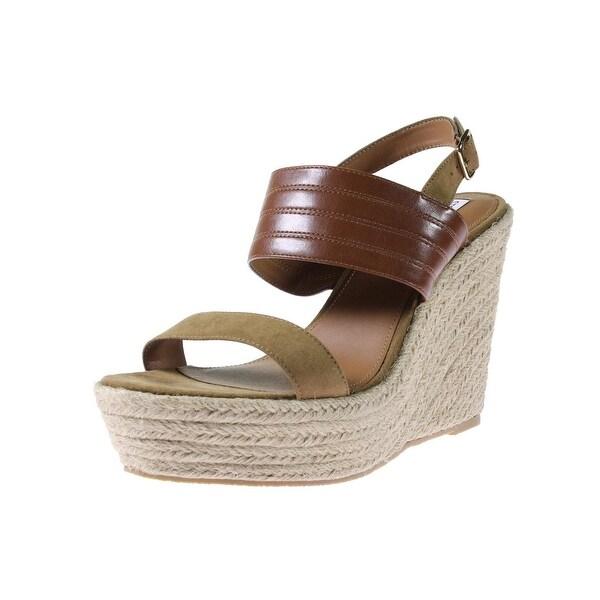 Steve Madden Womens Prima Wedge Sandals Open Toe