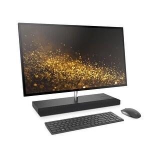 """HP ENVY 27b-120, Core i7-7700, 256GB SSD 1TB HD 27"""" 3840 x 2160 WLED All in One - Black"""