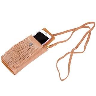 Mad Style Phone It In Fringe Crossbody