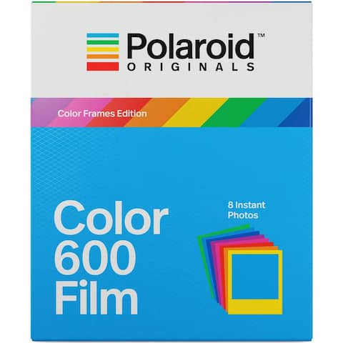 Polaroid Originals Instant Color Film for Color Frames (600 Camera)