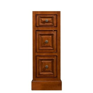 """Sunny Wood CB1221D Cambrian 12"""" Drawer Bank with 3 Drawers"""