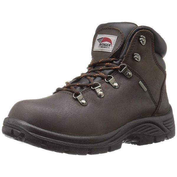 b6b2f65e055 Shop Avenger Safety Footwear Men's 7625 Leather Waterproof Soft Toe ...