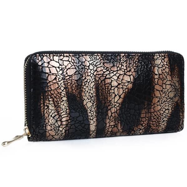 Mad Style Bronze Haven Zipper Wallet