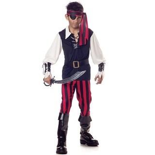 California Costumes Cutthroat Pirate Child Costume - Black/Red