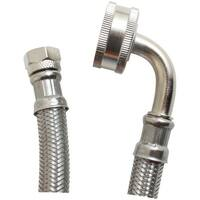 Certified Appliance Dw60Ssl Braided Stainless Steel Dishwasher Connector With Whirlpool(R) Elbow (5Ft)