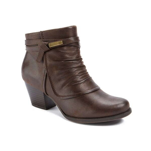 Wear.Ever. Remmi Women's Boots Dk Brown