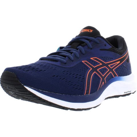 Asics Mens GEL-Excite 6 Running Shoes Faux Leather Padded Insole