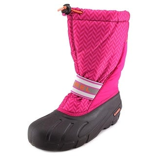 Sorel Flurry Youth Round Toe Synthetic Snow Boot