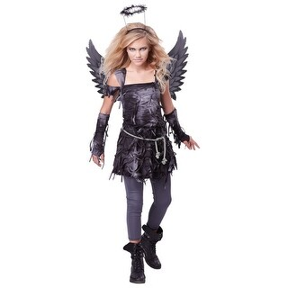 Girls Spooky Angel Halloween Costume (2 options available)