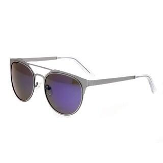 Breed Mensa Men's Titanium Sunglasses - 100% UVA/UVB Prorection - Polarized/Mirrored Lens - Multi