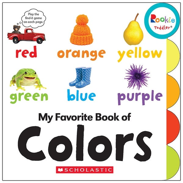 Board Book My Fav Book Of Colors Rookie Toddler