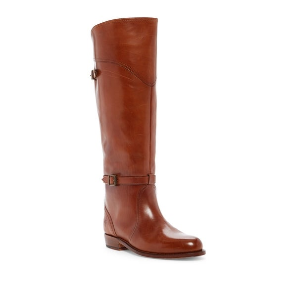 Frye NEW Brown Women's Shoes Size 7M Dorado Leather Riding Boot