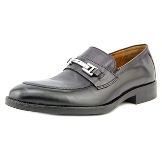 Johnston & Murphy Beckwith Wingtip Apron Toe Leather Loafer