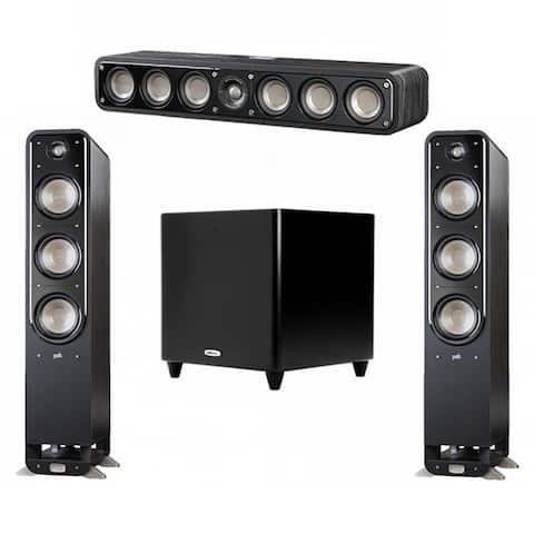 Polk Audio Signature 3.1 System with 2 S60 Speakers, 1 Polk S35, 1 Polk DSW PRO 550 wi Sub
