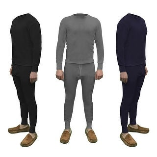 Men's Cotton Waffle Knit Thermals