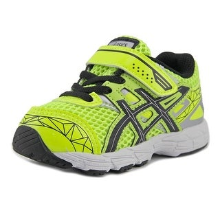 Asics Ret2ven Toddler Round Toe Synthetic Yellow Sneakers